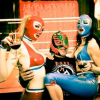 Lucha Britannia – The Combination Of Mexican Lucha Libre Wrestling, Burlesque Dance, Comedy Show In Fetish Atmosphere