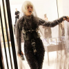 Lady Gaga In Milan Wearing BDSM Harness From Joanna Lark