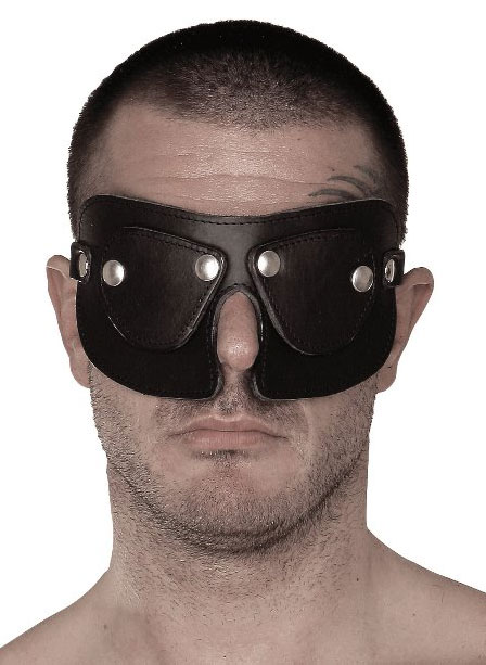 BDSM Leather Blindfold
