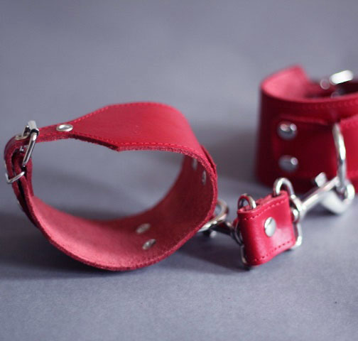 Ankle Cuffs with Trigger Hooks