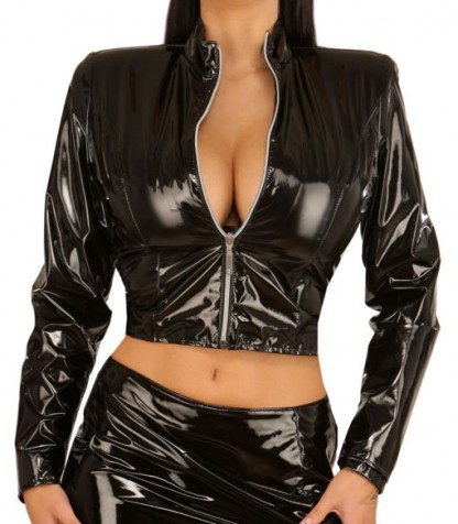 Womens Short Black Jacket
