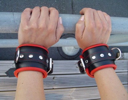 Bondage Cuffs with Soft Padding