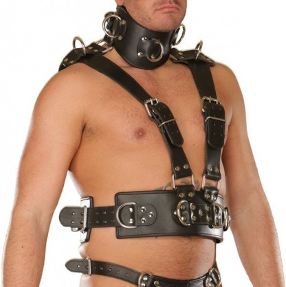 BDSM Upper Body Harness for Him