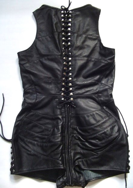 Leather Playsuit