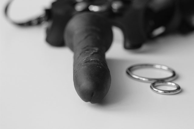 Strap on Harness for his Chastised Cock