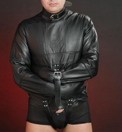 Leather Straitjacket Fully Lined