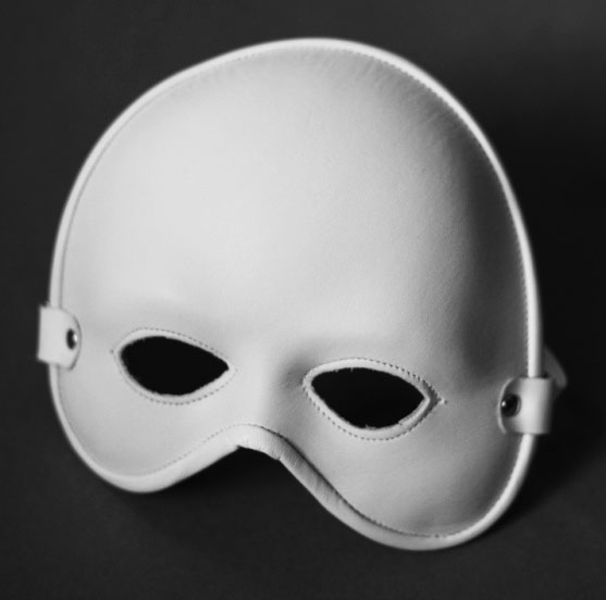 Intriguing Leather Fetish Mask