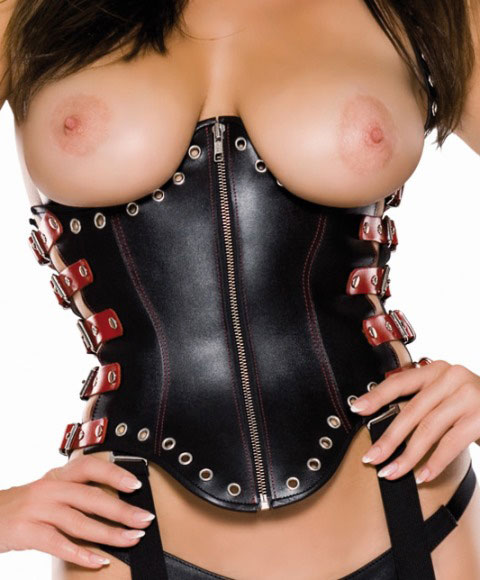 Underbust Corset with Side Straps