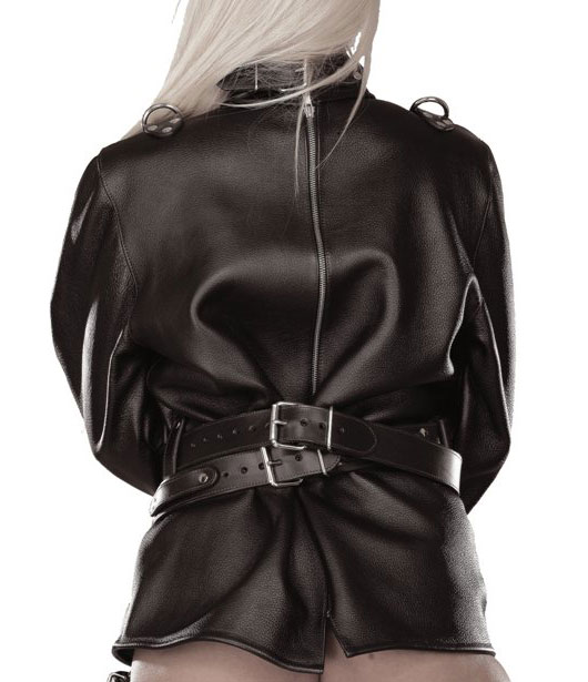 Armsdown Straitjacket in Leather