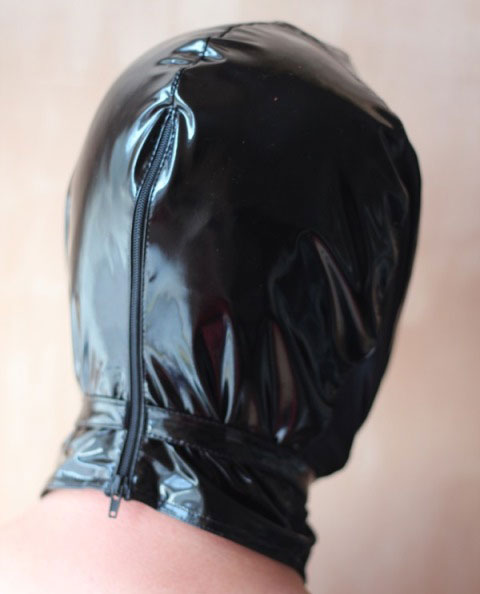 Fetish Hood in PVC