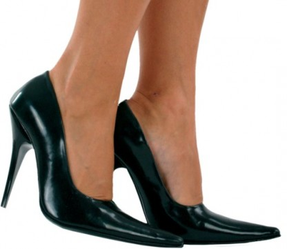 Latex Court Shoes size UK 5 SALE
