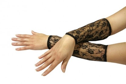 Burlesque Lace Cuffs