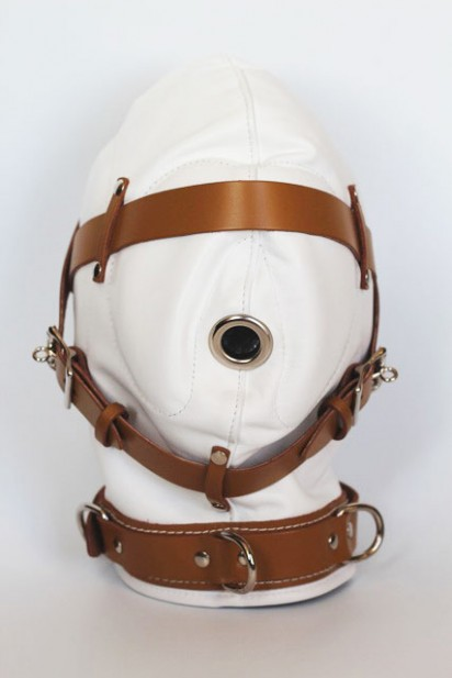 Bondage Hood for Sensory Deprivation in Medical Play