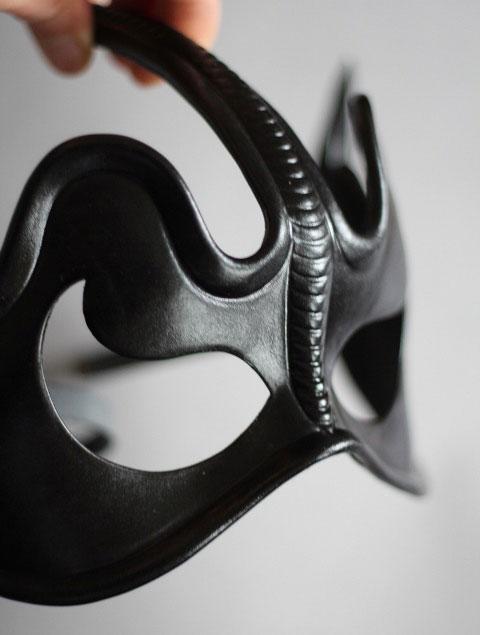 "Leather Eye Mask ""Rodopis"""