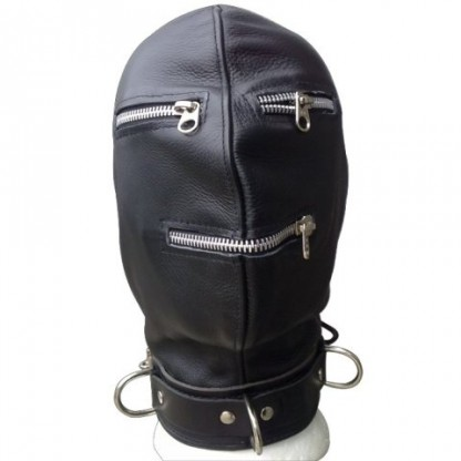 Gimp Hood with Zippers