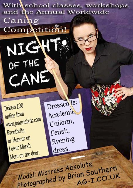 Night of the Cane Ticket