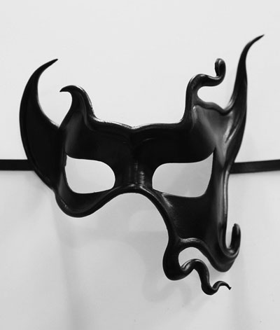 "Leather Eye Mask ""Caligula"""