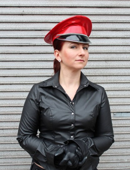 Dominatrix Hat in Red