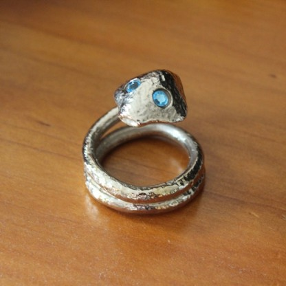 Helmet Ring Cobra