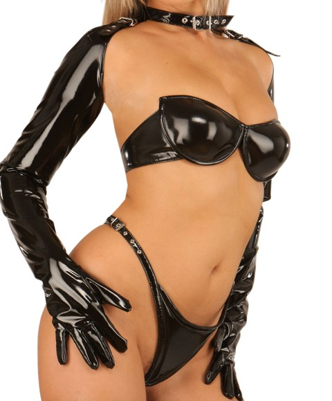 Opera Gloves with Collar