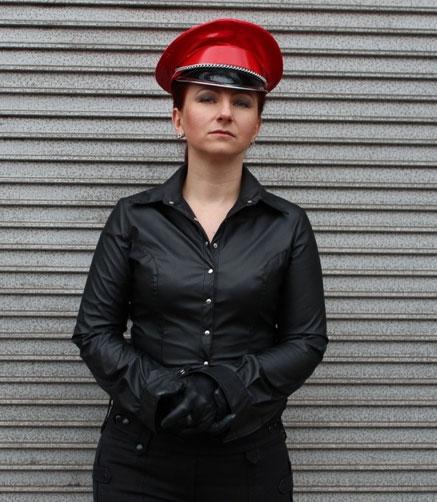 Dominatrix Hat in Red