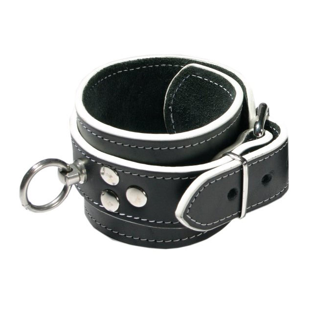 Ankle Cuffs with White Paint Trim
