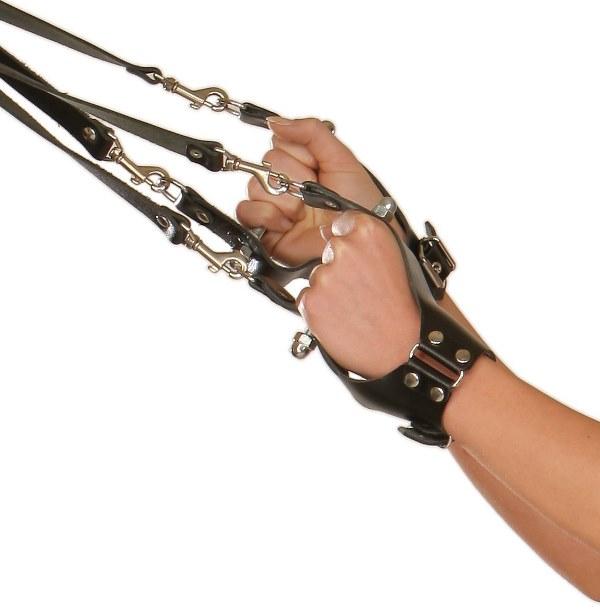 Suspension Wrist Cuffs with Metal Grip