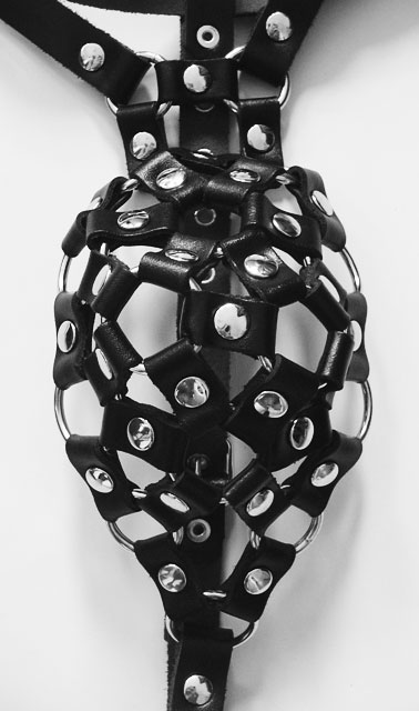 Leather Cock Basket