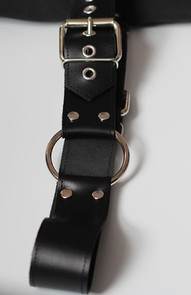 Bondage Harness with Belt and Cock Ring