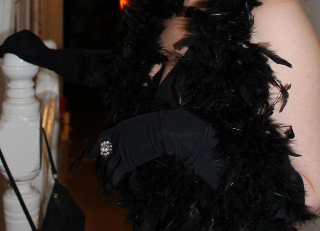 Long Opera Gloves in Lycra