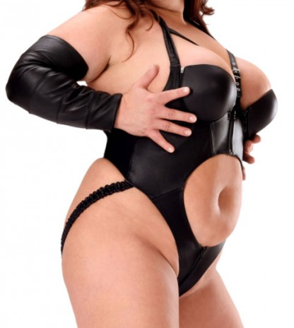 Sexy Leather Body for Luscious Lady