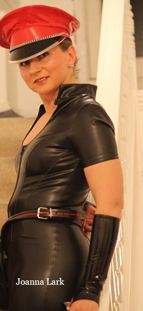 Latex Catsuit with Collar