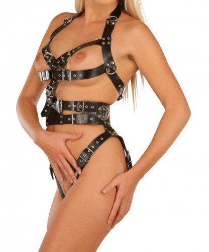 Strappy Bondage Harness