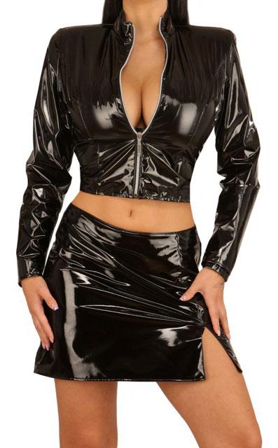 Womens Short Black Jacket