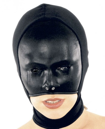 Leather and Lycra Hood