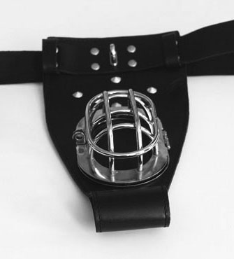 Chastity Belt in Leather