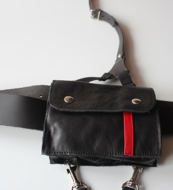 Shoulder Holster Hip Waist Bag with Garter and Belt