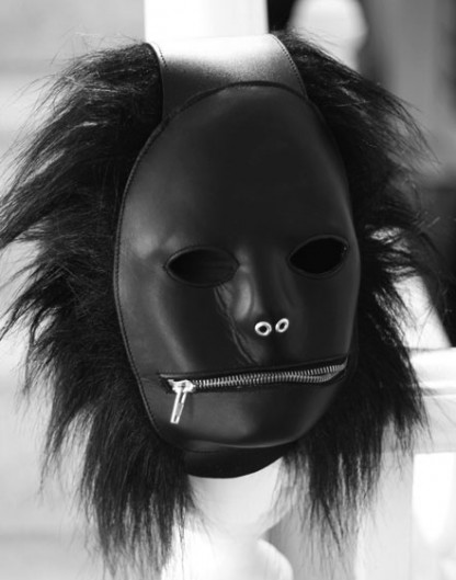 Unique Gimp Hood for Extreme Fun