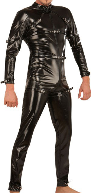 Men's PVC Catsuit for Ultimate Look