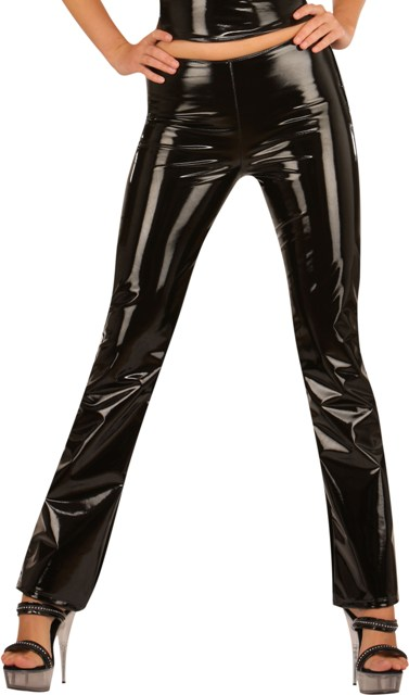 Skinny PVC Trousers
