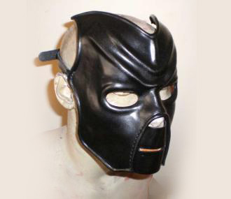 BDSM Mask in Leather Inspired by Vader