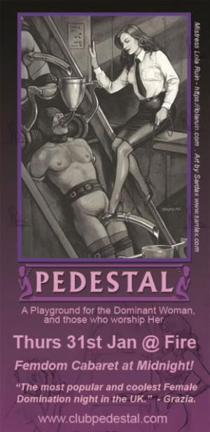 Club Pedestal Ticket