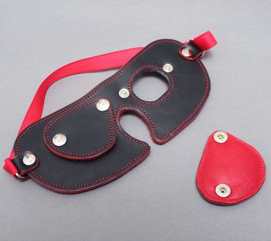BDSM Blindfold with Colour Trim