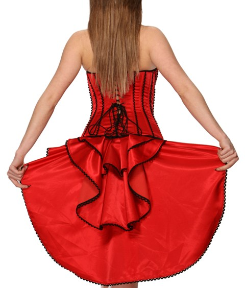 Corset with Train