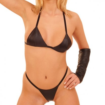 Leather Bikini