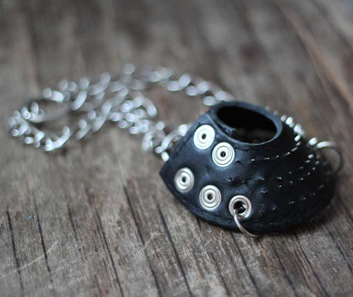 Ball Stretcher Spiked Leather