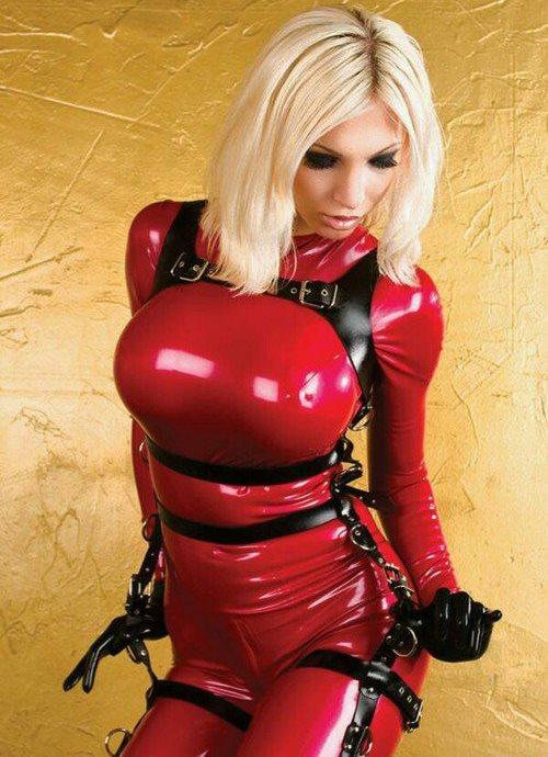 Bondage Harness in Leather Full Body