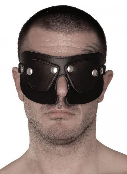 BDSM Leather Blindfold