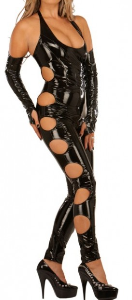 Fantastic Catsuit with Revealing Cut-outs