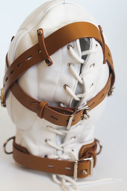 Bondage Hood for Sensory Deprivation in Medical Play